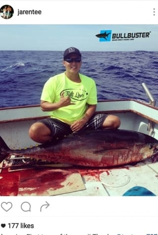 Ahi fishing